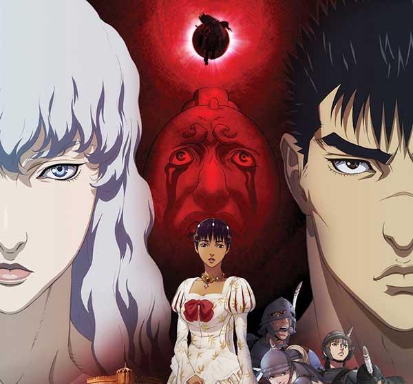 Berserk - Anime lawas yang romance-nya bikin nyesek karena NTR