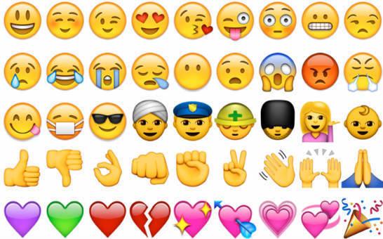 Emociones con emojis.