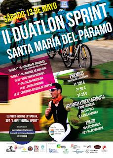 Duatlon Santa Maria del Paramo 2017