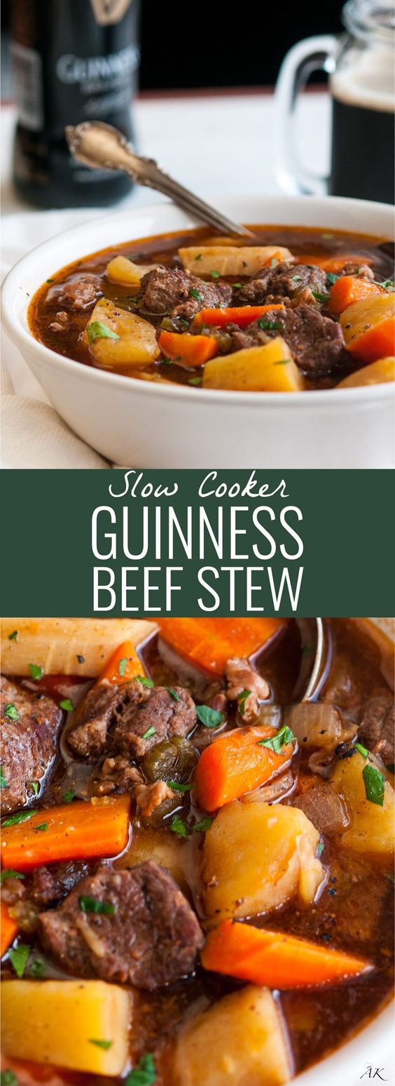 Slow Cooker Guinness Beef Stew