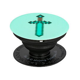 Minecraft PopSockets Diamond Sword Gadget