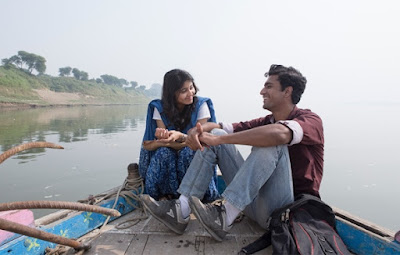 A Still from Masaan, boat scene, on the banks of river Ganga, in Varanasi