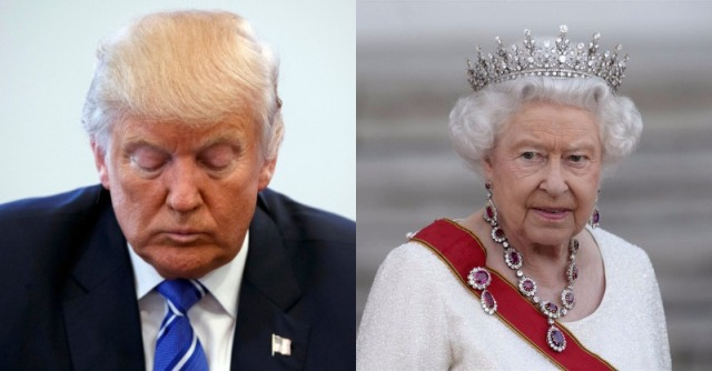 Queen Elizabeth Just CANCELED Trumps Visit To London