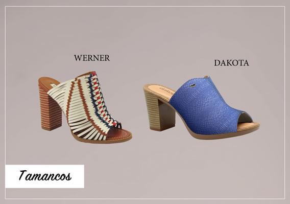 Tamancos para calçados de Verão 2017