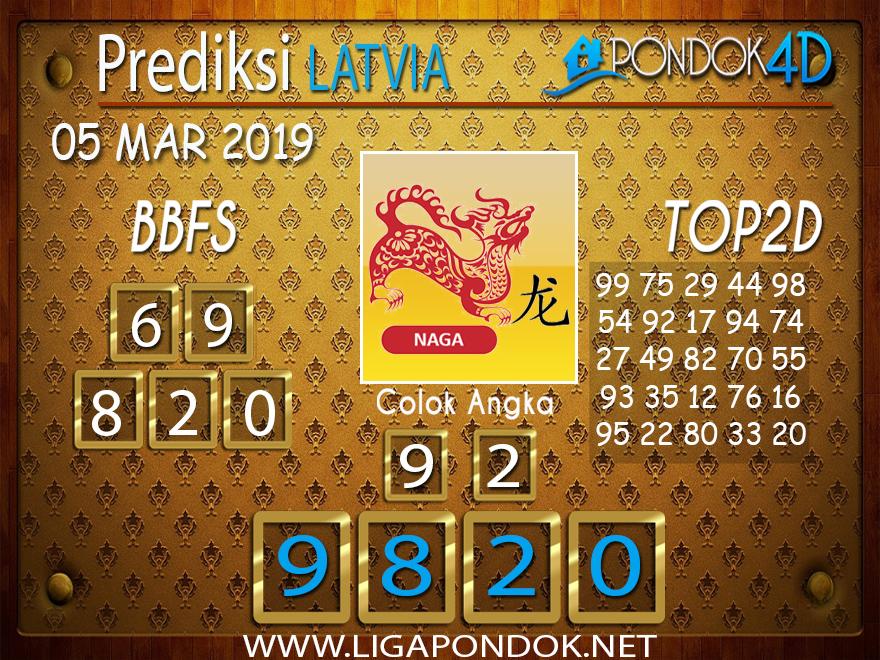 Prediksi Togel LATVIA PONDOK4D 05 MARET 2019