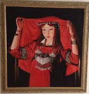 """""""Mongolian Bride"""", karya Sudrajat"""