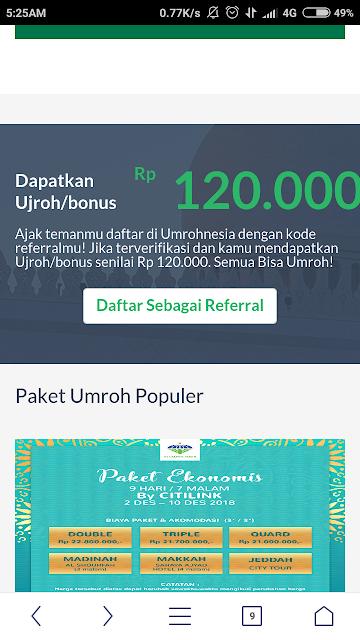 Umrohnesia Solusi Digital Marketplace Umroh