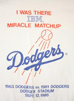 Dodgers Miracle Matchup by IBM?