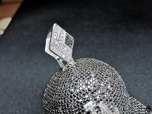 Air Jordan XI Concord Diamond Pendant