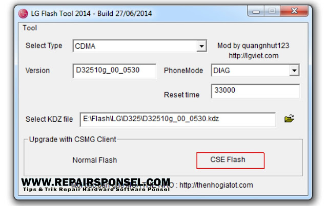Tutorial Flashing LG L70 D325 kzd file (Tested)