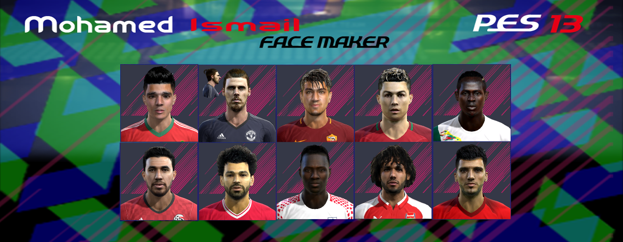 PES 2013 faces part3 by Mohamed Ismail