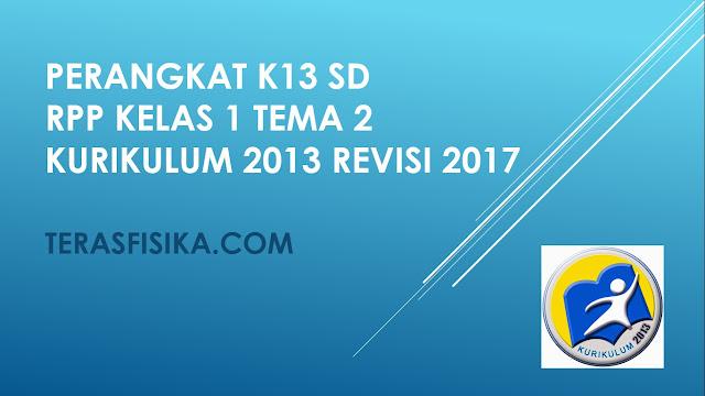 RPP SD Kelas 1 Tema 2 Kurikulum 2013 Revisi 2017