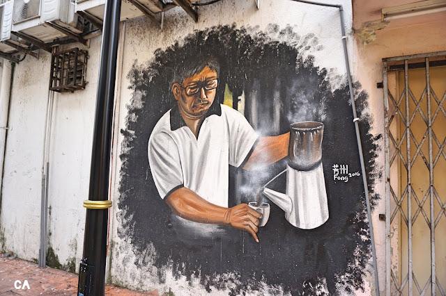 Kluang Street Art Johor Curitan Aqalili