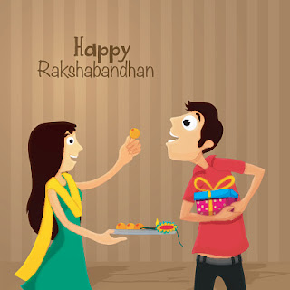 Happy Rakshabandhan Cartoon Picture Quotes