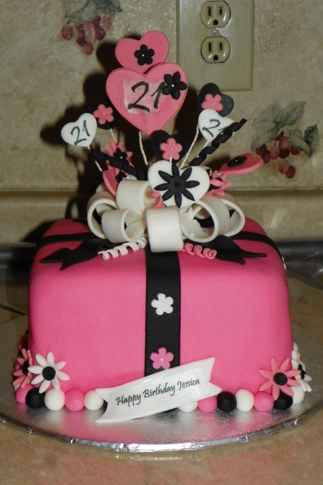 Adult Girly Fun Birthday Cakes