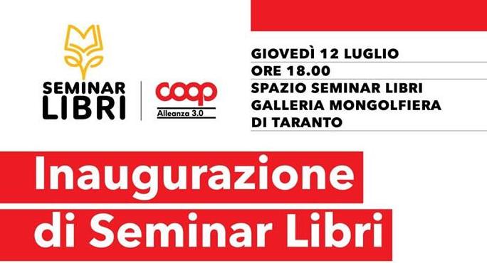 b91db0cb82 Taranto - Il 12 Luglio si inaugura il Seminar Libri, con «L'amore al Tempo  delle Favole » di Antonella Colucci