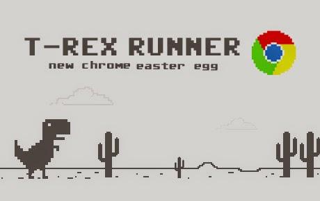 Cara Memainkan Game Dinosaurus Di Google Chrome Offline