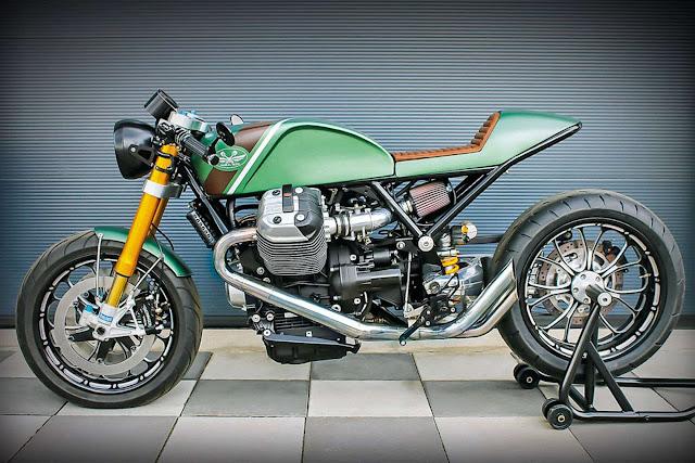 Racing Caf U00e8  Moto Guzzi Mgr 1200 By Radical Guzzi