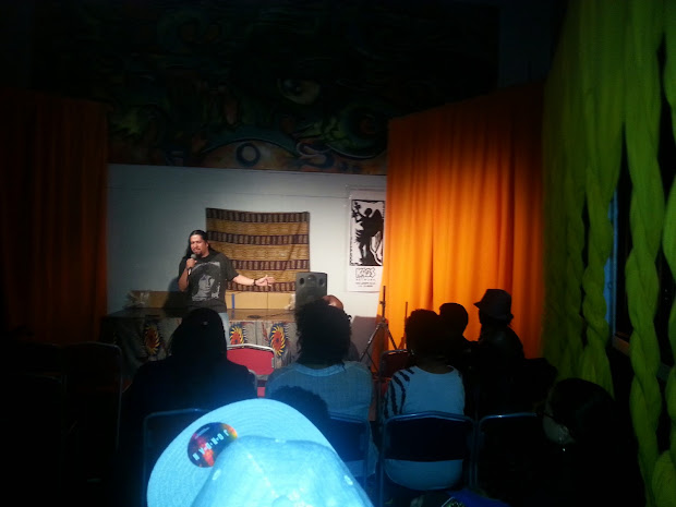 Leimert Park Art Walk Comedy Show Hosted Stevie Mack