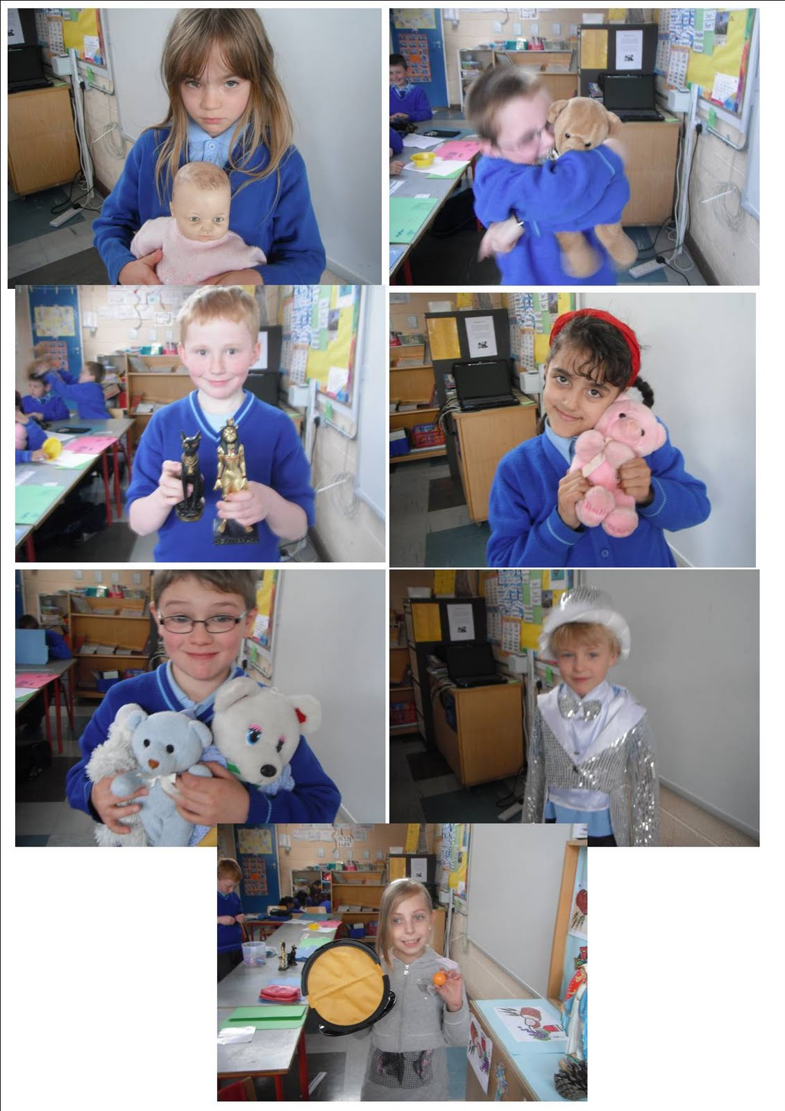 Literacy Site Show And Tell In Second Class