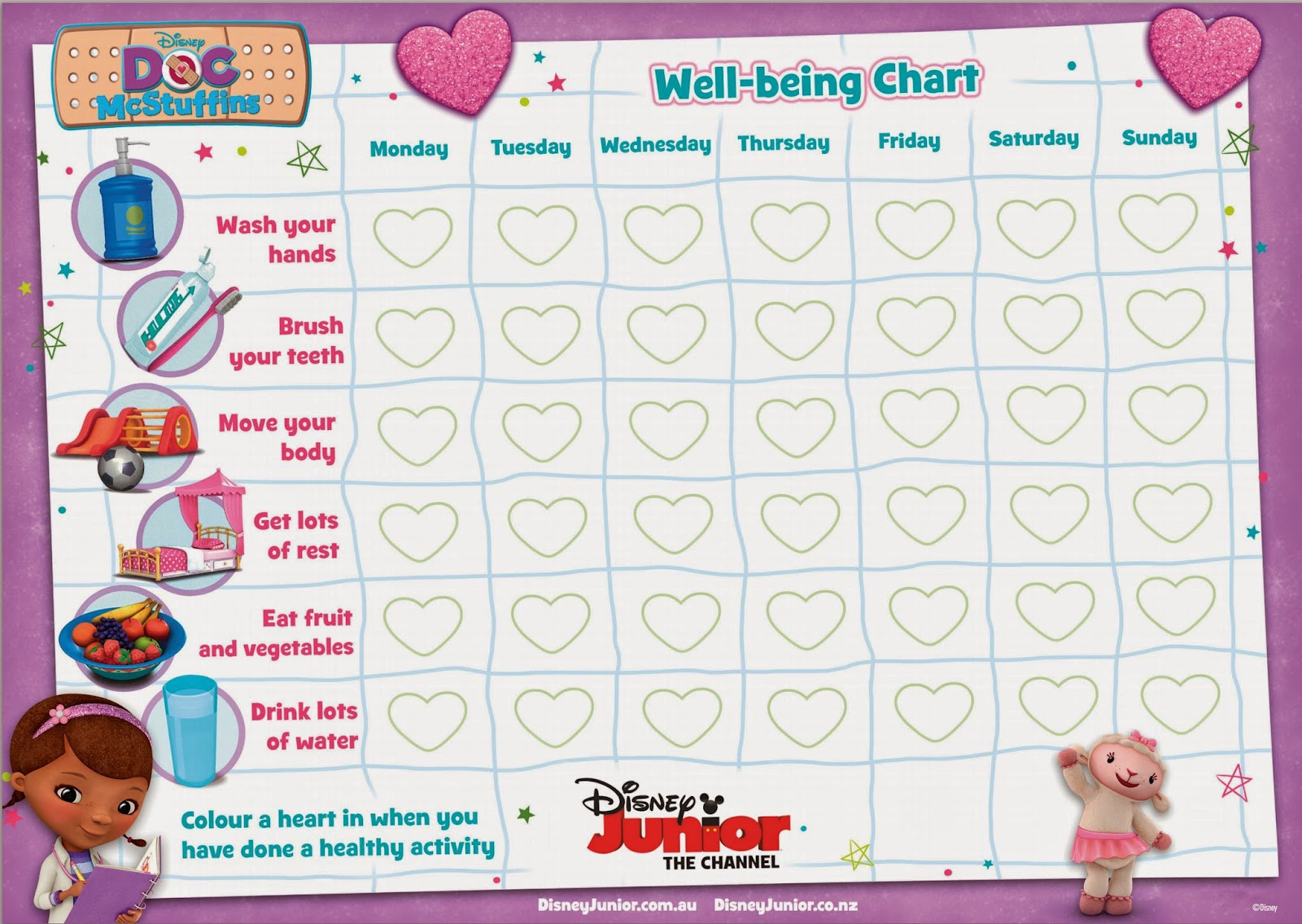 Learn With Play At Home Doc Tober On Disney Junior Promoting Health And Wellbeing For Children