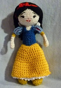 http://www.ravelry.com/patterns/library/amigurumi-crochet-pattern-snow-white
