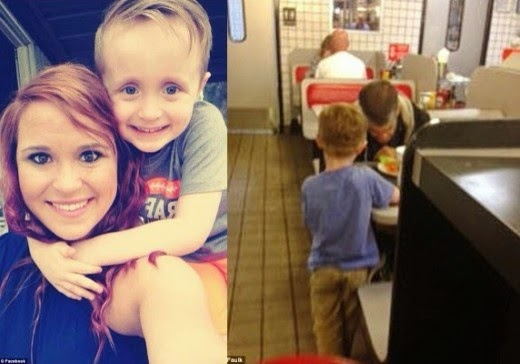 Touching Moment When 5 Yr Old Boy Begged His Mother To Buy A Homeless Man Dinner