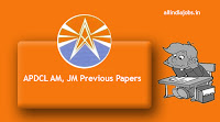 APDCL Assistant Manager Previous Papers