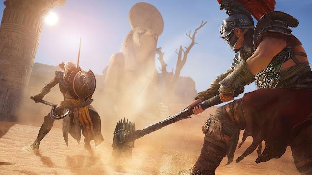 الكشف عن تفاصيل جديدة لنظام القتال في لعبة Assassin's Creed Origins