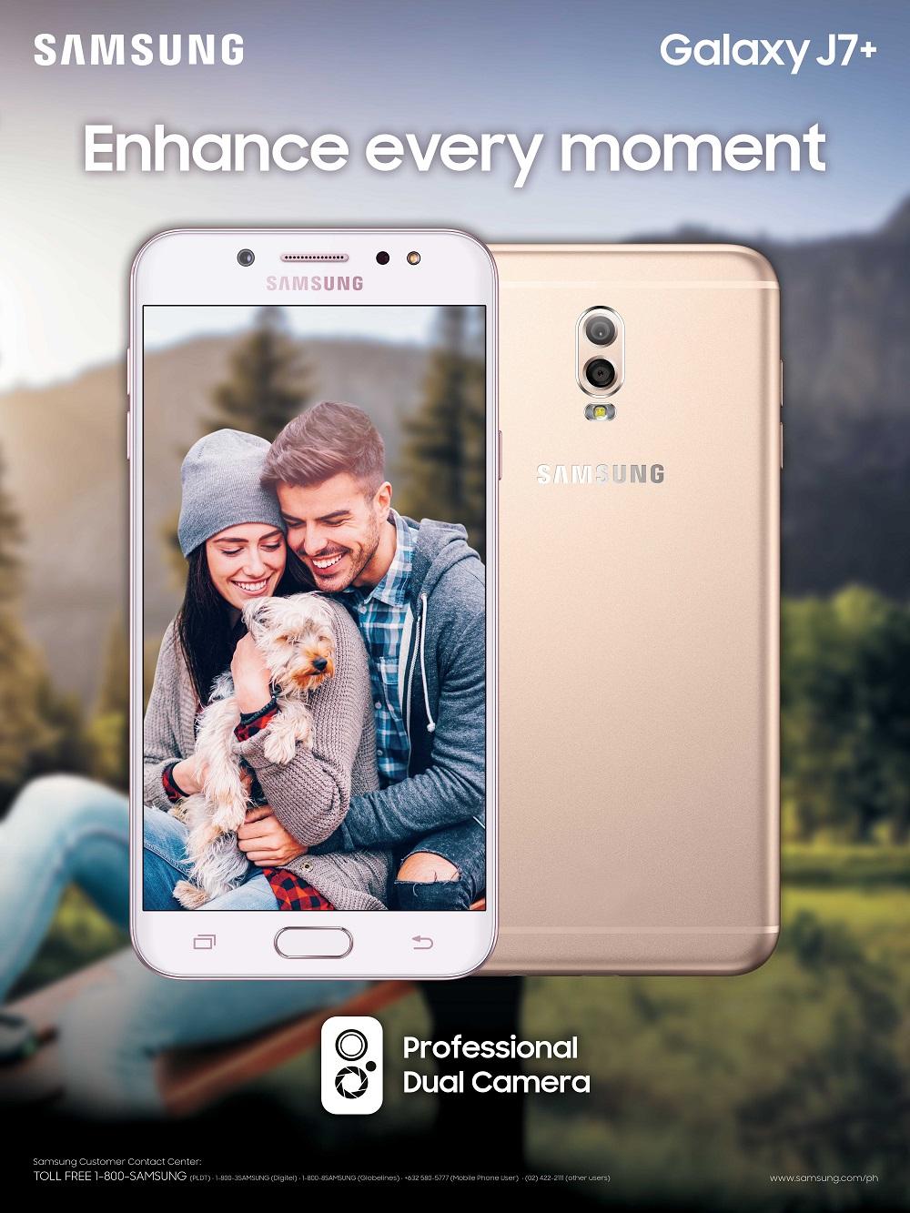 Samsung Galaxy J7+ at 0% interest