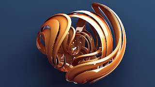 Abstract 3D Desktop