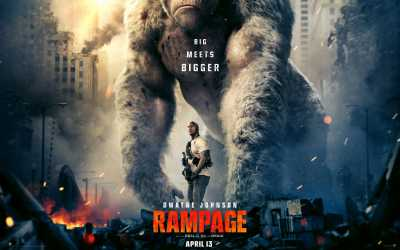Rampage (2018) Dual Audio Hindi - English 300MB Movies Download DVDScr