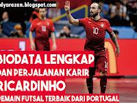 Biodata dan Perjalanan Karir Ricardinho, Pemain Futsal Terbaik Dunia dari Portugal