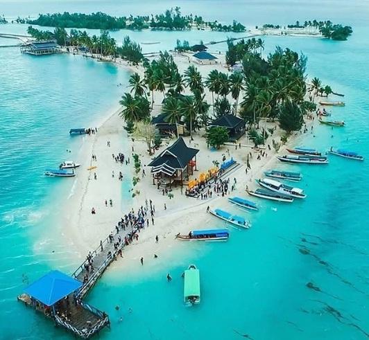 Bokori Island tempat wisata kendari