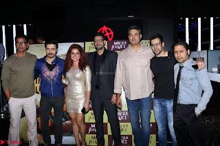 Pia Bajpai and Darshan Kummar Launching the Music of movie Mirza Juuliet 015.JPG