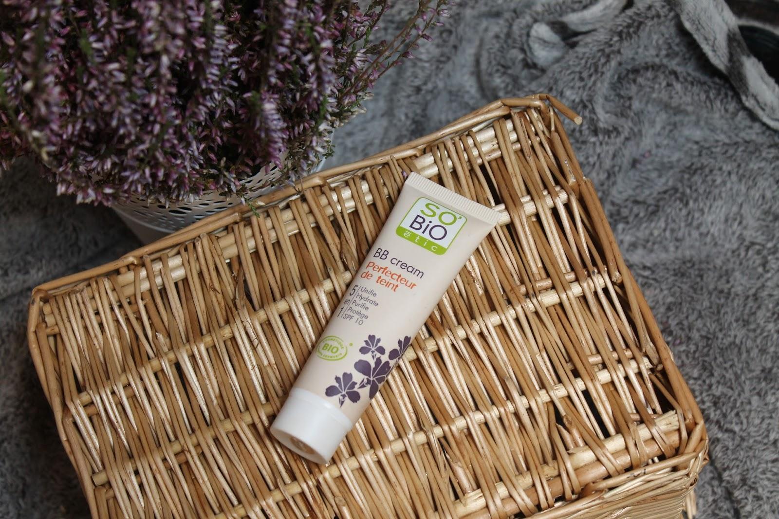 Naturalny krem BB, który kryje jak dobry, drogeryjny podkład - So bio etic BB cream 5w1