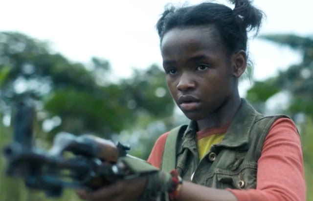 niños soldado en the widow amazon serie