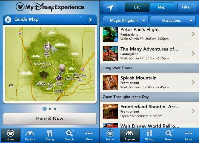 Consejos de Disney para saltear las filas y utilizar la aplicación
