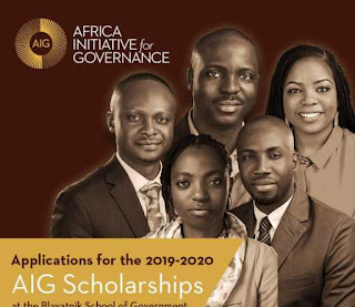 AIG Scholarships 2019