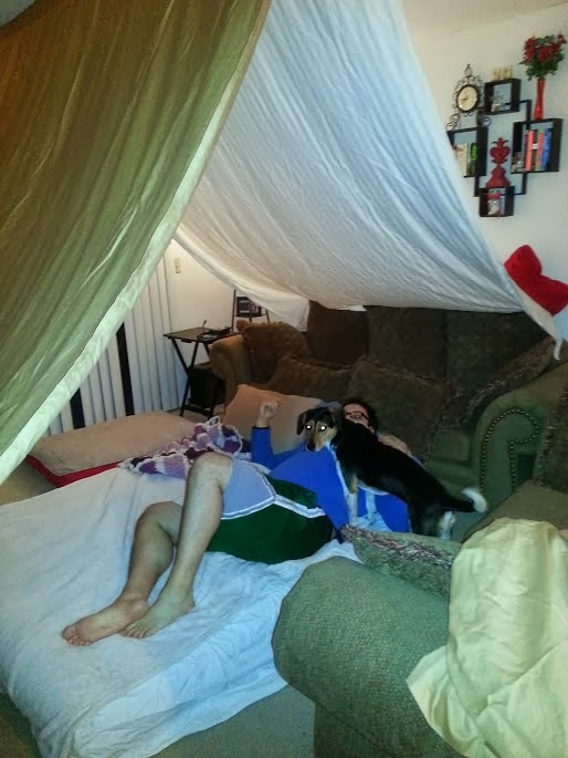 I Build Forts In The Living Room