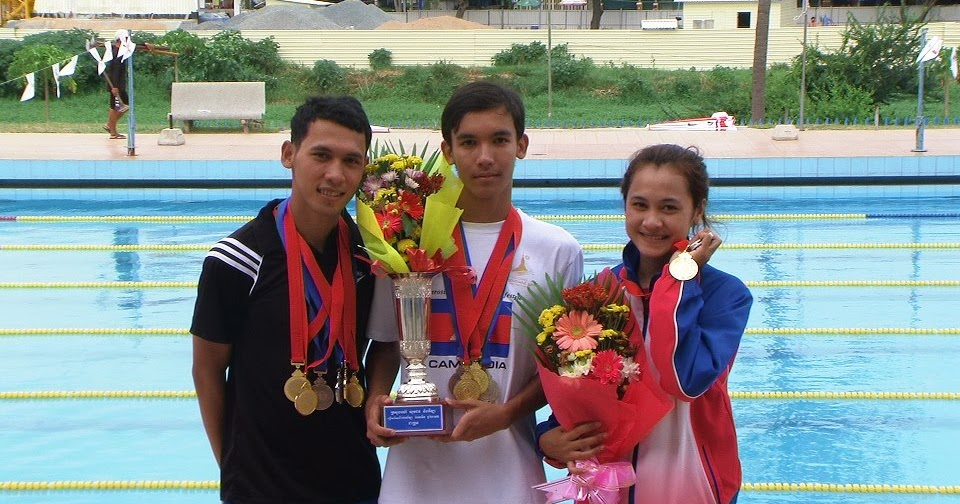 Cambodian National Swimming Meets