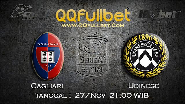 PREDIKSIBOLA - Prediksi Taruhan Bola Cagliari VS Udinese 27 November 2016 (SERIE A Italia)