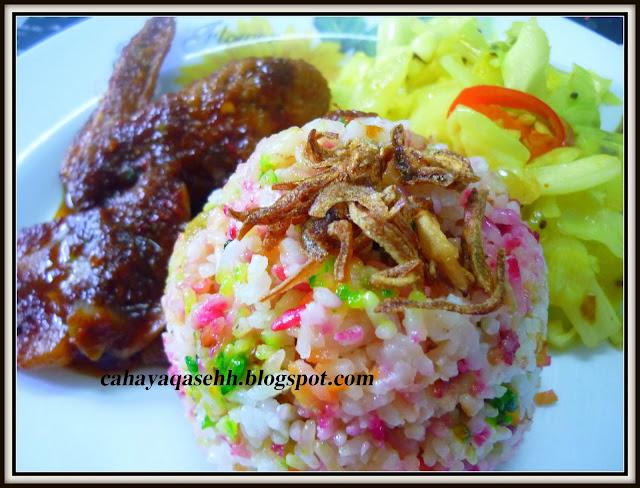 dapur mak long nasi hujan panas Resepi Nasi Kuning Kismis Enak dan Mudah