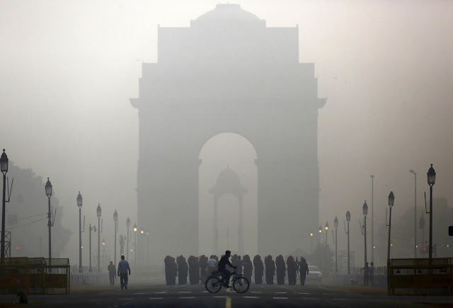 Delhi is most polluted city in the world