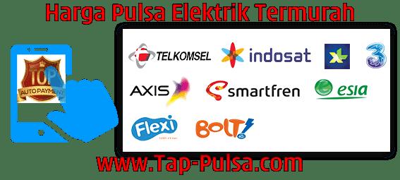 Tap-Pulsa.Com Agen Pulsa Elektrik Online Termurah