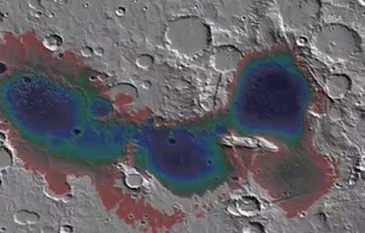 Pesawat Ruang Angkasa Menemukan Bukti Danau Mars raksasa