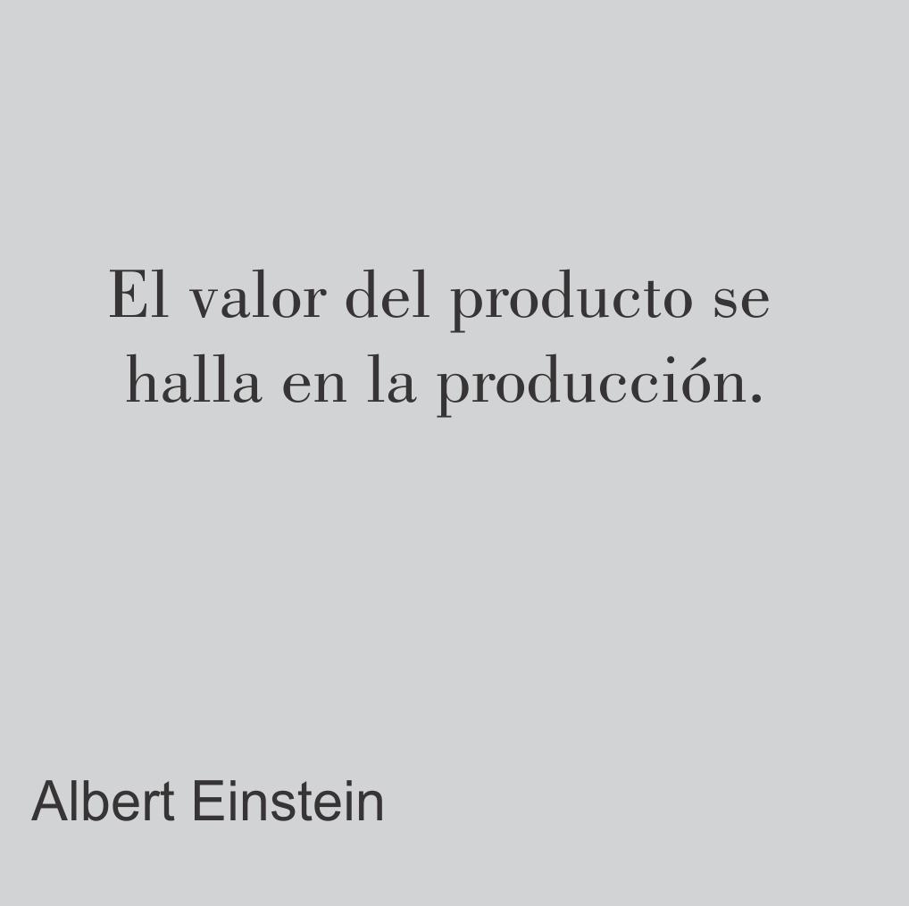 El valor del producto