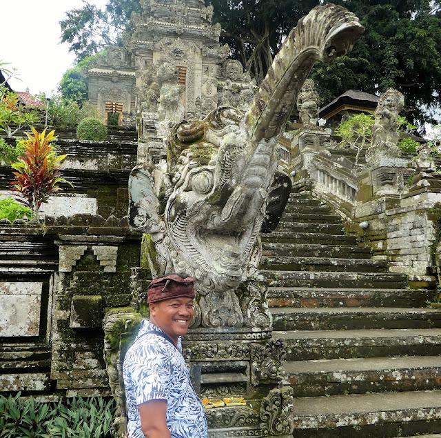 Bali driver Daniel