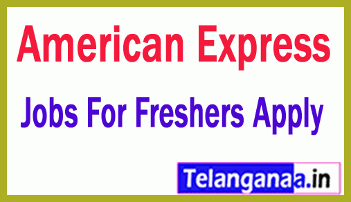 American Express Recruitment Jobs For Freshers Apply