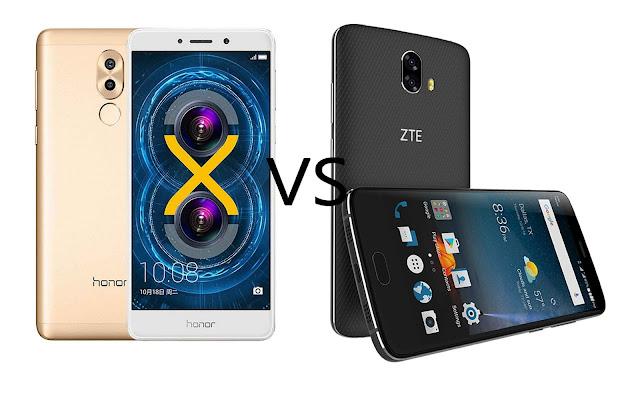 Huawei Honor 6X VS ZTE Blade V8 Pro